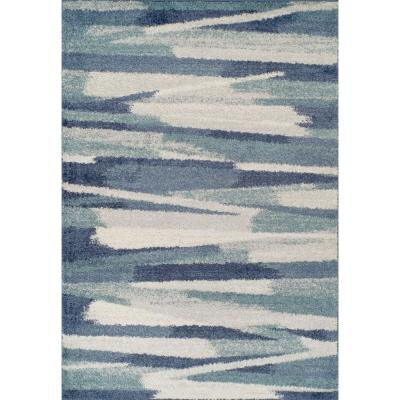 Harmony 7 Navy 5 Ft. 1 In. X 7 Ft. 5 In. Area Rug
