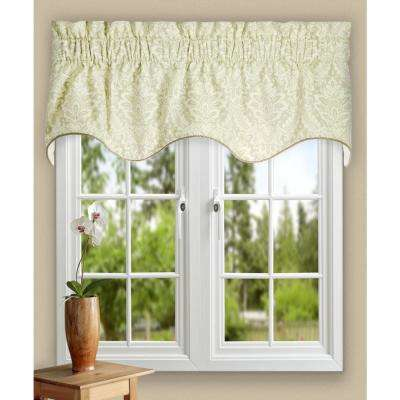 Donnington 15 in. L Cotton Lined Duchess Filler Valance in Linen