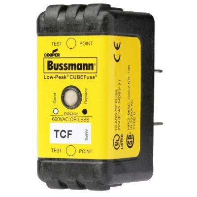 60-Amp TCF Time Delay Cube Fuse