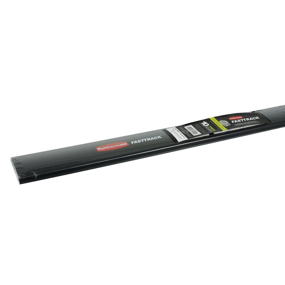 Rubbermaid Fasttrack Garage 84 In Hang Rail Track Storage System