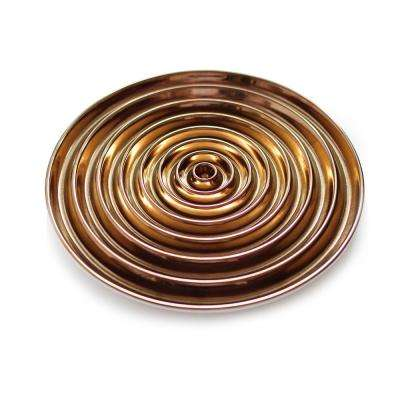14.3 in. Ceramic Vertigo Fruit Plate
