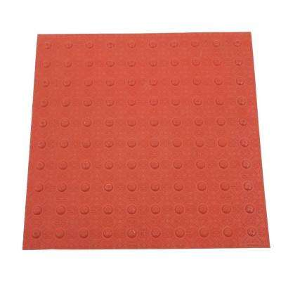 2 ft. x 2 ft. Brick Red Detectable Warning Tile