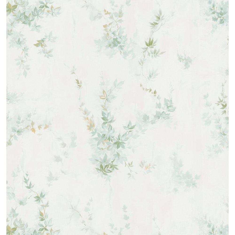 Brewster 8 in. W x 10 in. H Ivy Wallpaper Sample