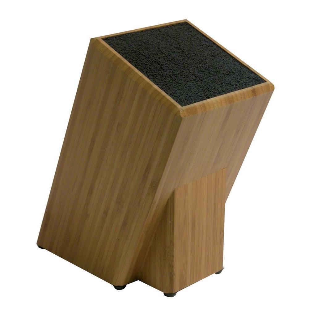 Kapoosh Bamboo Universal Knives and Utensils Storage Block