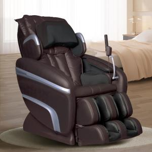 titan osaki brown faux leather reclining massage chair