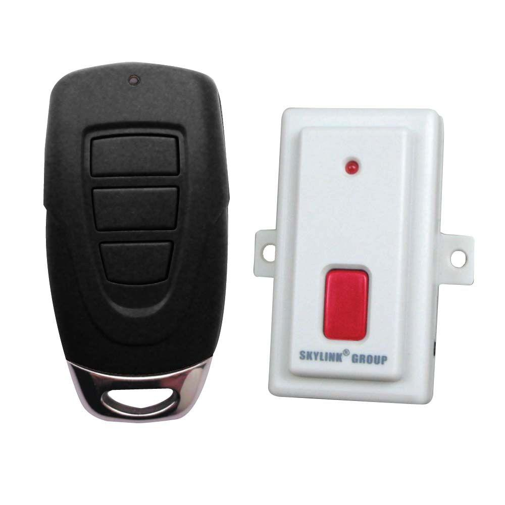 SkyLink 3 Button Key Chain Universal Remote Control Kit-DISCONTINUED