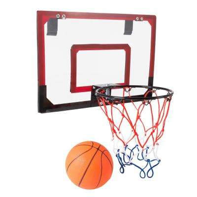 Mini Basketball Hoop with Ball and Breakaway Spring Rim