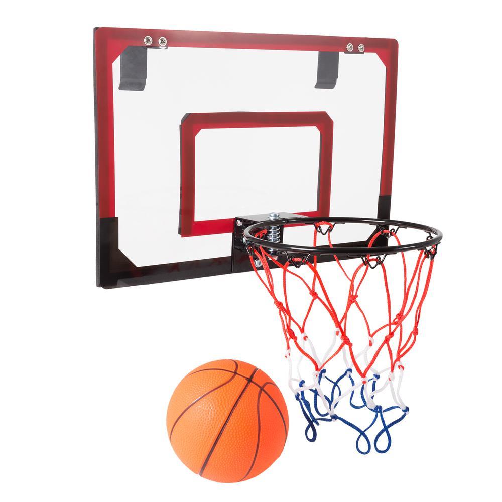 Mini Basketball Hoop with Ball and Breakaway Spring Rim