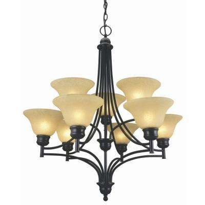 Bristol 9-Light Oil Rubbed Bronze Chandelier