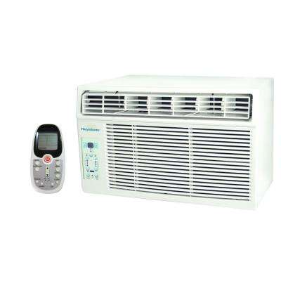 12,000 BTU 115-Volt Window-Mounted Air Conditioner with LCD Remote Control