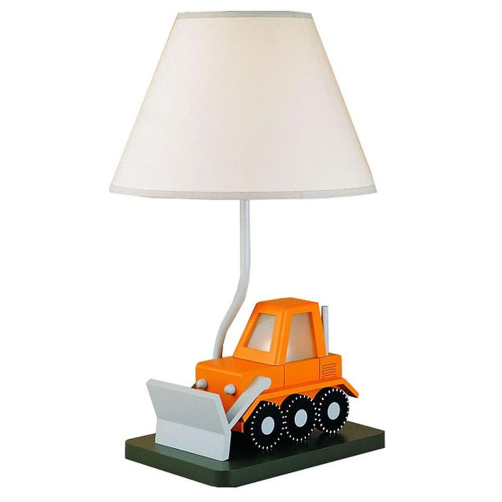 Filament Design Cooper 21 in. Orange Tractor Novelty Lamp