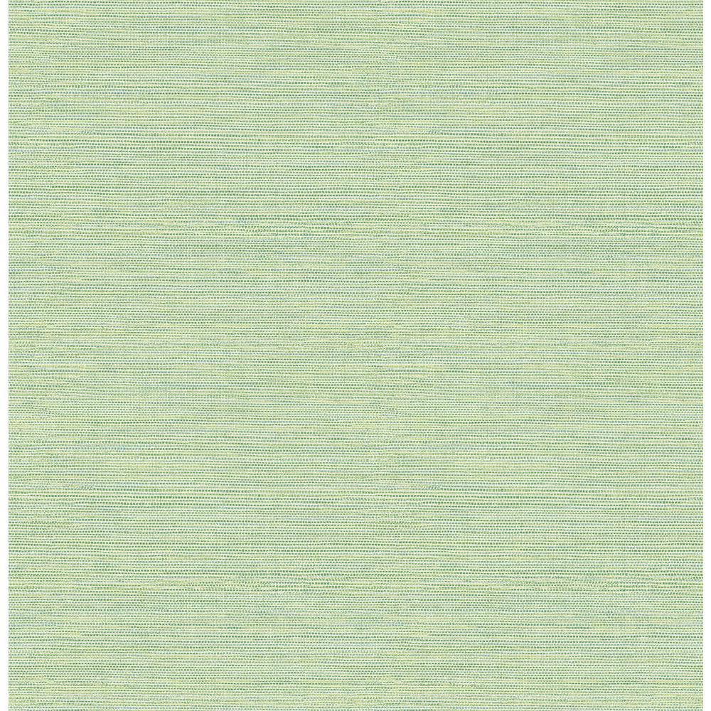 Chesapeake 56.4 sq. ft. Agave Green Faux Grasscloth Wallpaper 3117-24284