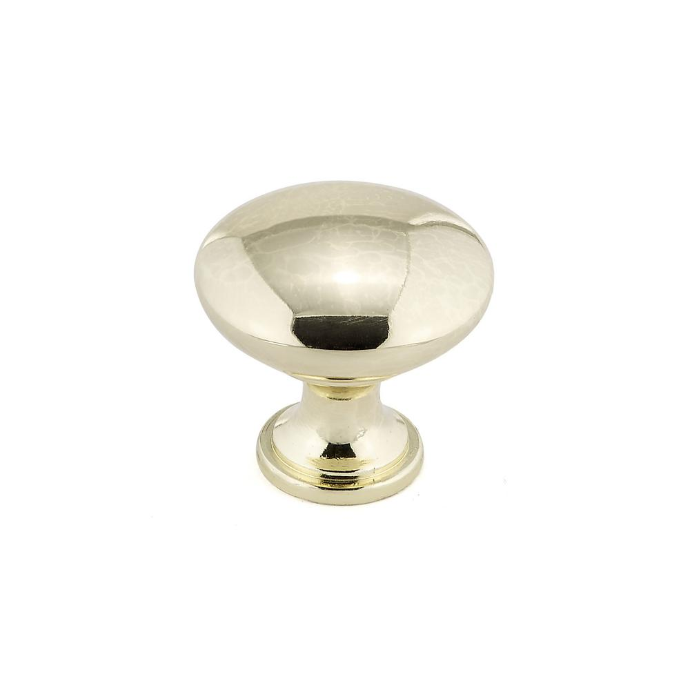Richelieu Hardware Contemporary and Modern 1-1/8 in. Brass Cabinet Knob