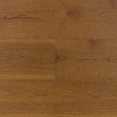 Extra Wide and Long 7-1/2 in. W Saddleback Trail Medium Brown Engineered Hickory Hardwood Flooring (29.75 sq. ft./case)