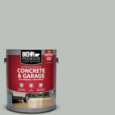 1 gal. #PFC-62 Pacific Fog Self-Priming 1-Part Epoxy Satin Interior/Exterior Concrete and Garage Floor Paint