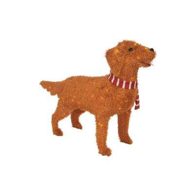 3375 in - Labrador Outdoor Christmas Decoration