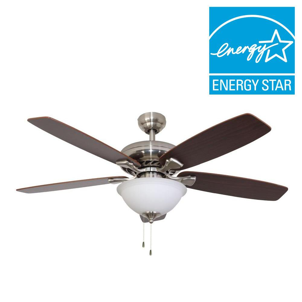 Sahara fans ardmore 52 in brushed nickel energy star ceiling fan sahara fans ardmore 52 in brushed nickel energy star ceiling fan aloadofball Image collections
