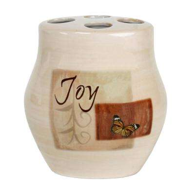 Tranquility Free Standing Toothbrush Holder in Spice