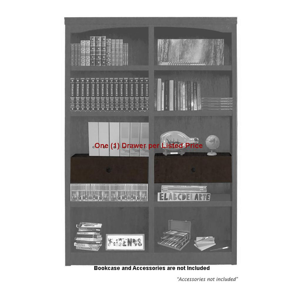 Concepts In Wood Midas Espresso Drop in Shelf and Drawer Unit