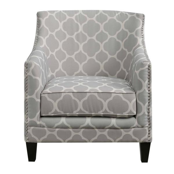 Amazing Deena Dove Accent Chair Udh705100Ca The Home Depot Pdpeps Interior Chair Design Pdpepsorg
