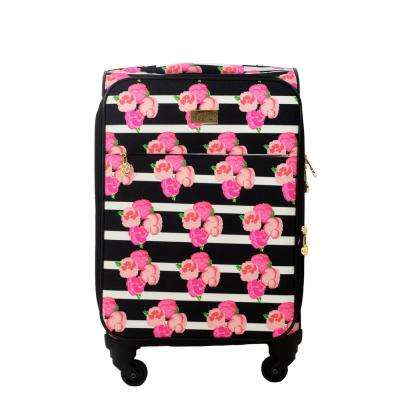 Petunia 21 in. Magenta Soft Sided Rolling Luggage Suitcase