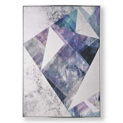 """39 in. x 28 in. """"Midnight Aura"""" Printed Canvas Wall Art"""