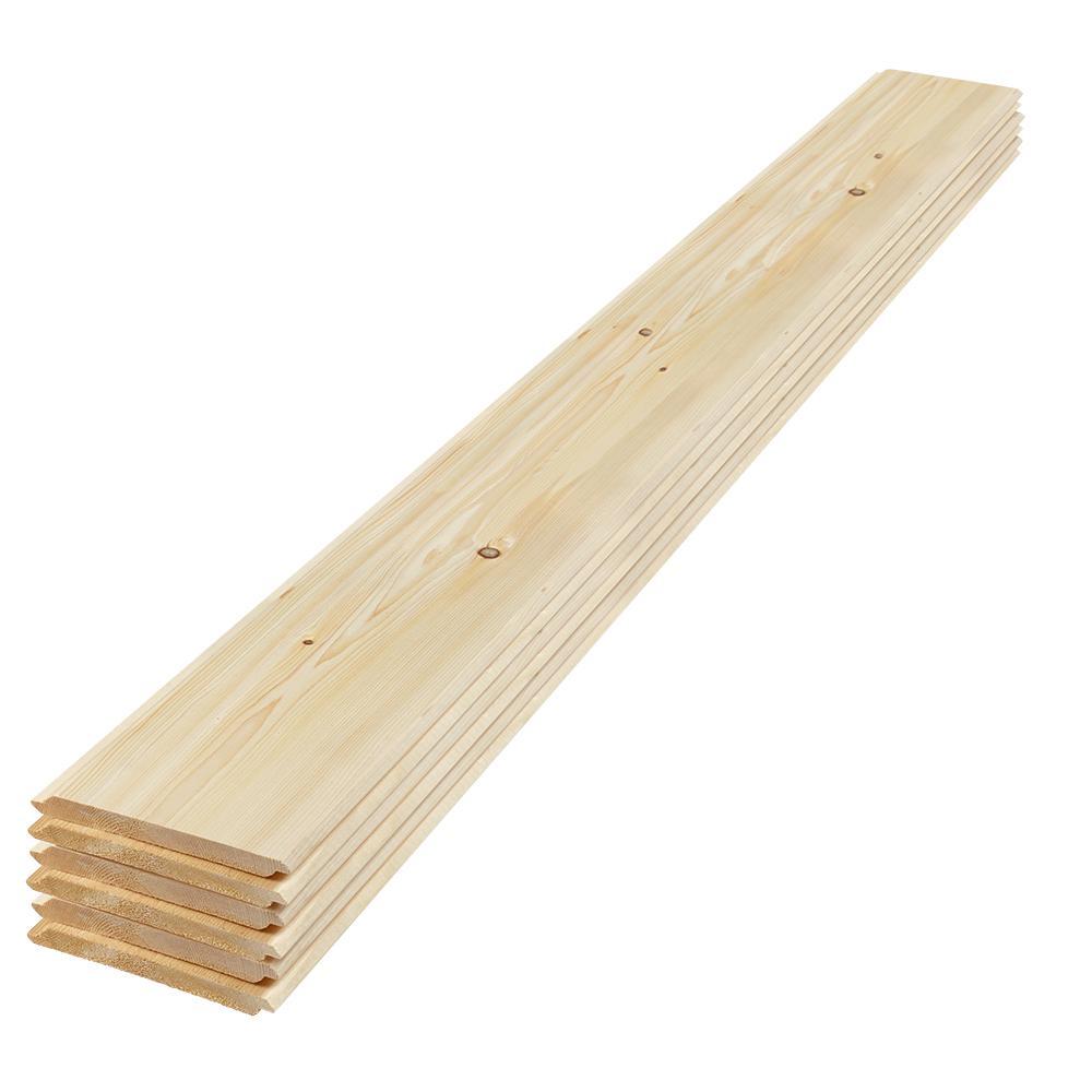 1 14 Pine Boards ~ In ft eased edge pine shiplap board