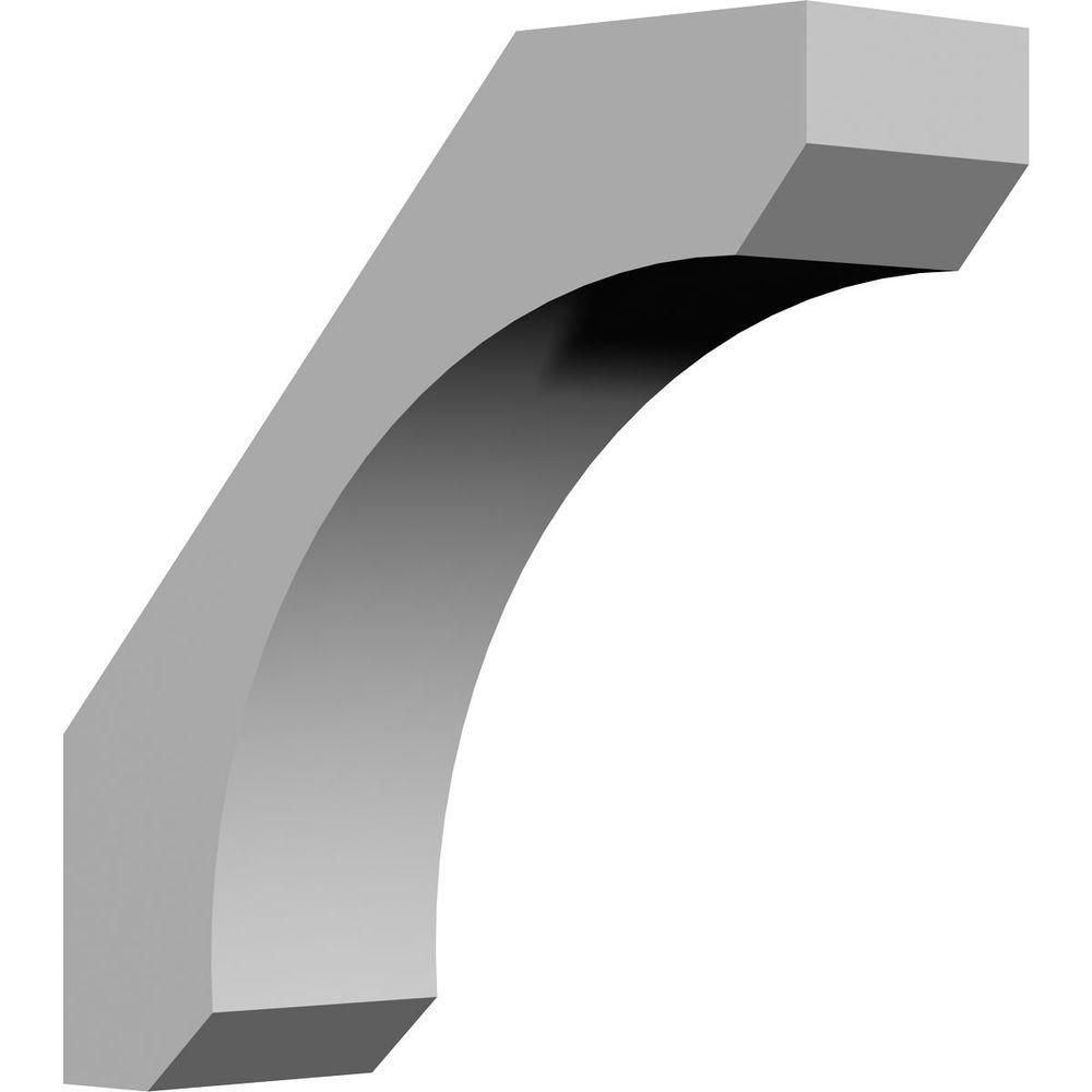 5-1/2 in. x 16 in. x 16 in. Polyurethane Legacy Corbel