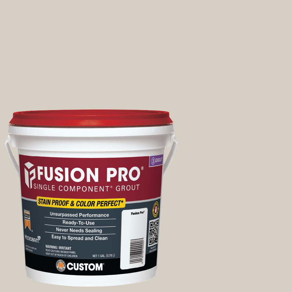Custom Building Products Fusion Pro #545 Bleached Wood 1 Gal. Single Component Grout