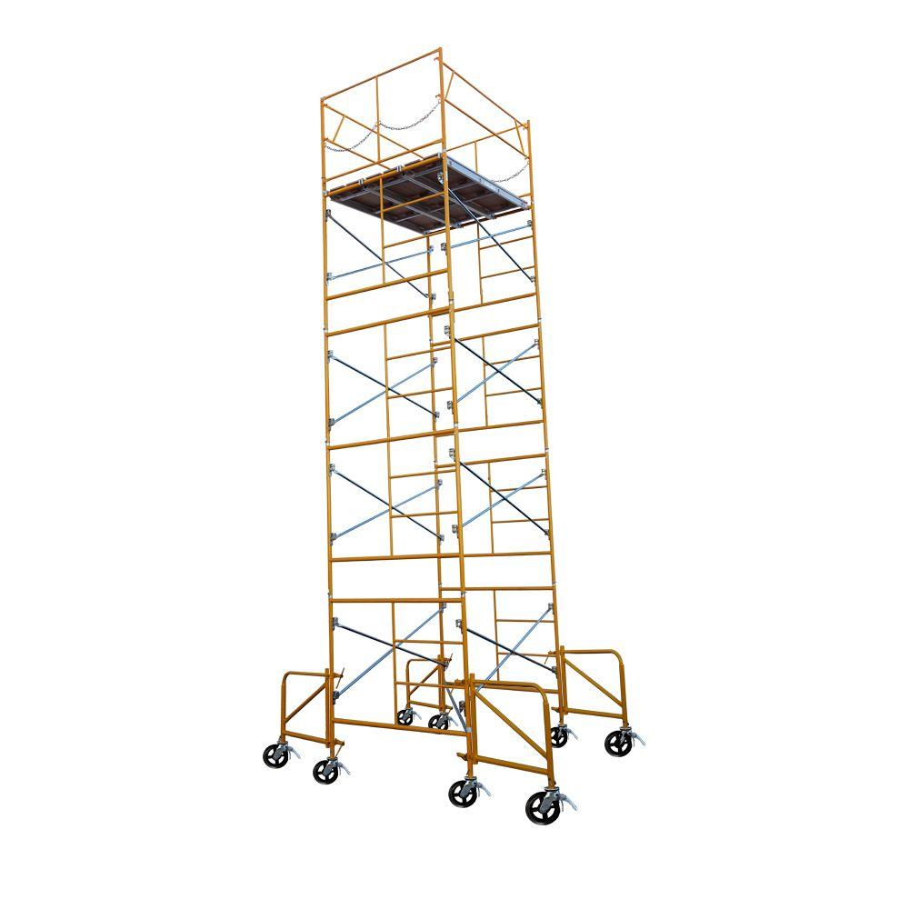Fortress 21 Ft X 7 Ft X 5 Ft Rolling Scaffold Tower