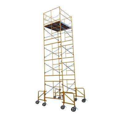21 ft. x 7 ft. x 5 ft. Rolling Scaffold Tower 2000 lb. Load Capacity