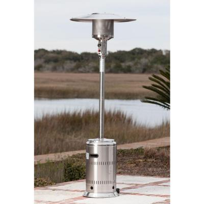 46,000 BTU Stainless Steel Propane Gas Commercial Patio Heater