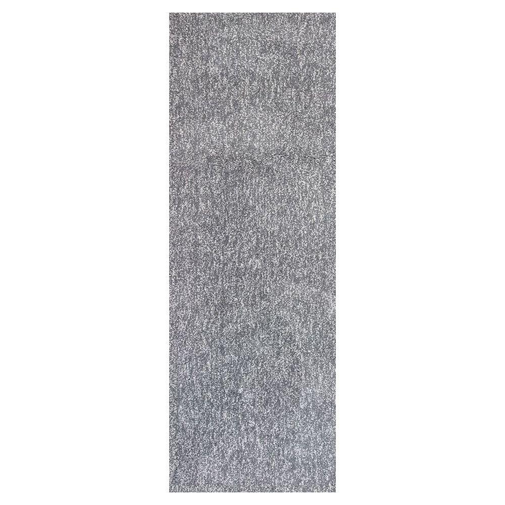 Home decorators collection cozy shag grey heather 2 ft 3 for Home decorators rug runners
