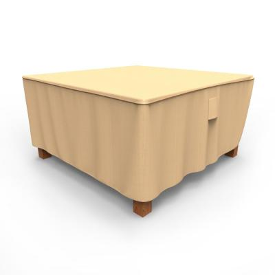 Rust-Oleum NeverWet Large Tan Outdoor Square Patio Table Cover