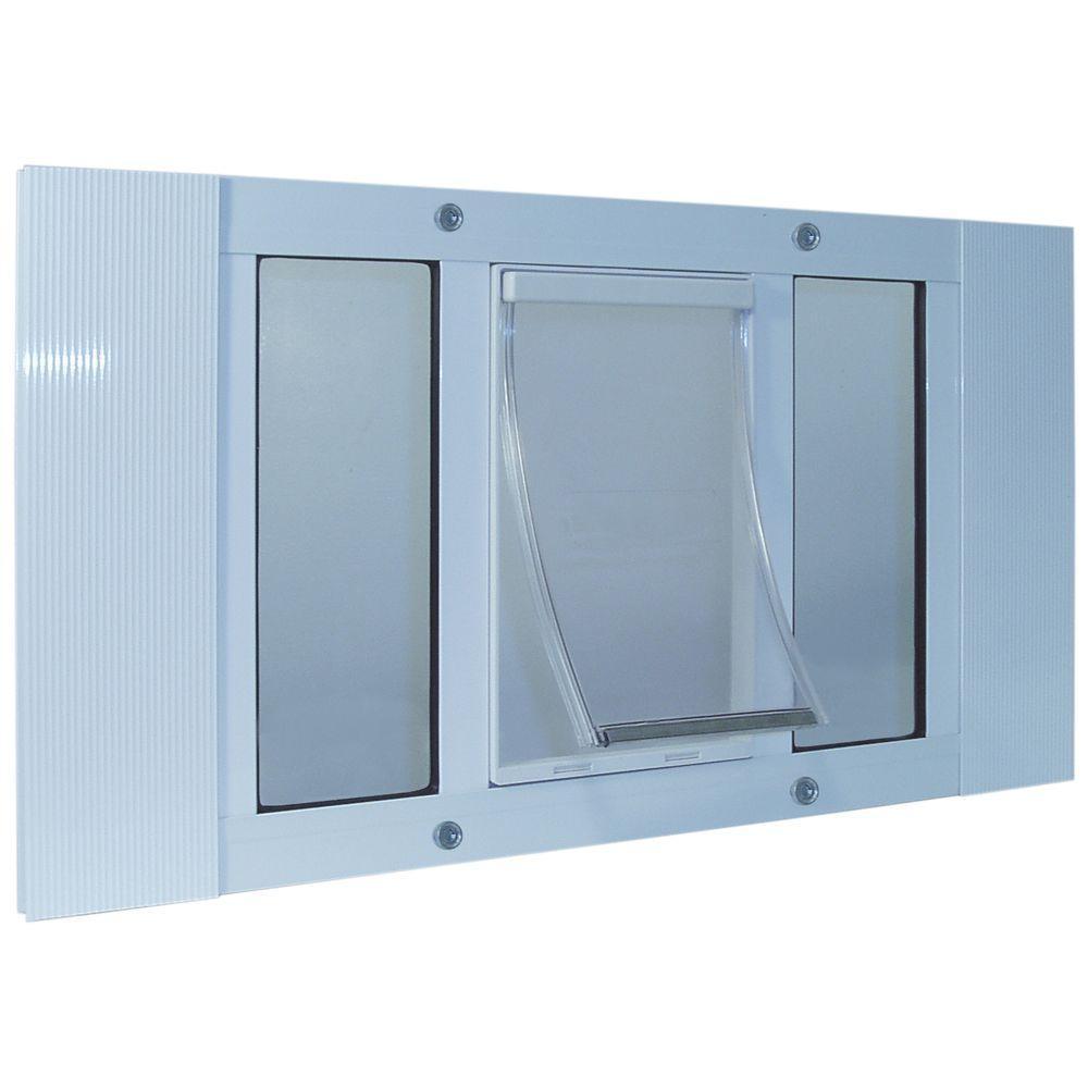 7 in. x 11.25 in. Medium Original Frame Door for Installation into 33 in. to 38 in. Wide Sash Window