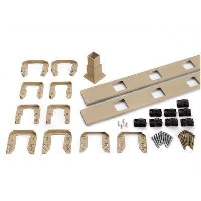 Transcend 67.5 in. Composite Rope Swing Square Baluster Stair Accessory Kit
