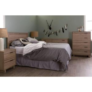 Fynn Rustic Oak Full Headboard