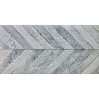 Velocity Force Matte 17.4 in. x 35.04 in. Porcelain Floor and Wall Tile (8.468 sq. ft. / case)