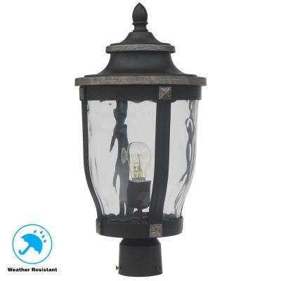 Mccarthy 1 Light Bronze Outdoor Post Mount