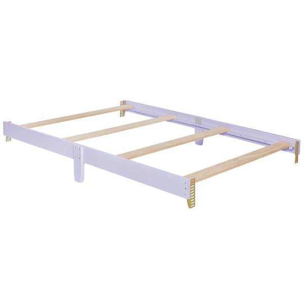 Evolur White Full Size Bed Rail 812 W The Home Depot