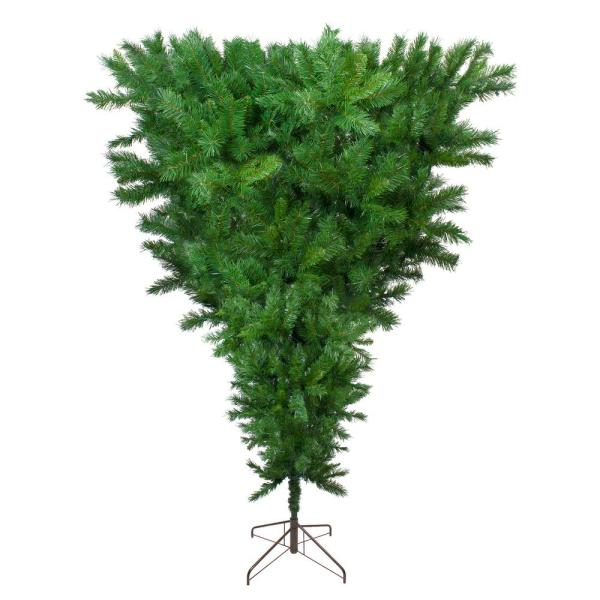 9 ft. Unlit Sugar Pine Upside Down Artificial Christmas Tree