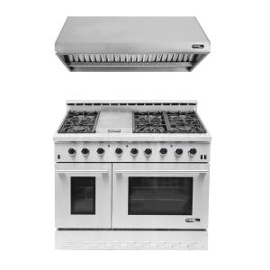 Kitchenaid 6 Burner Gas Cooktop kitchenaid 48 in. gas cooktop in stainless steel with griddle and