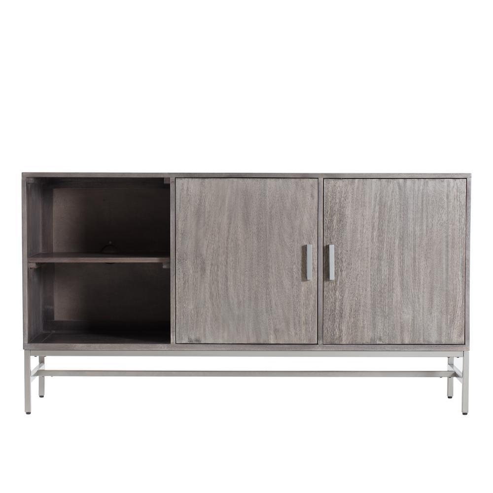 Nimes Media Cabinet Grey