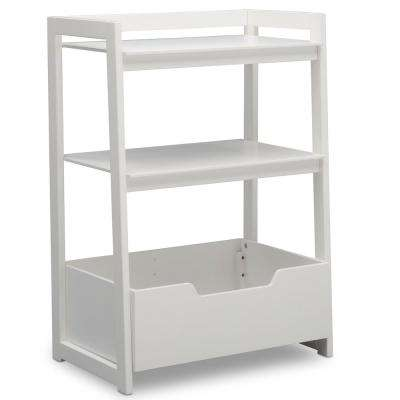 Universal Bianca White Small Ladder Shelf