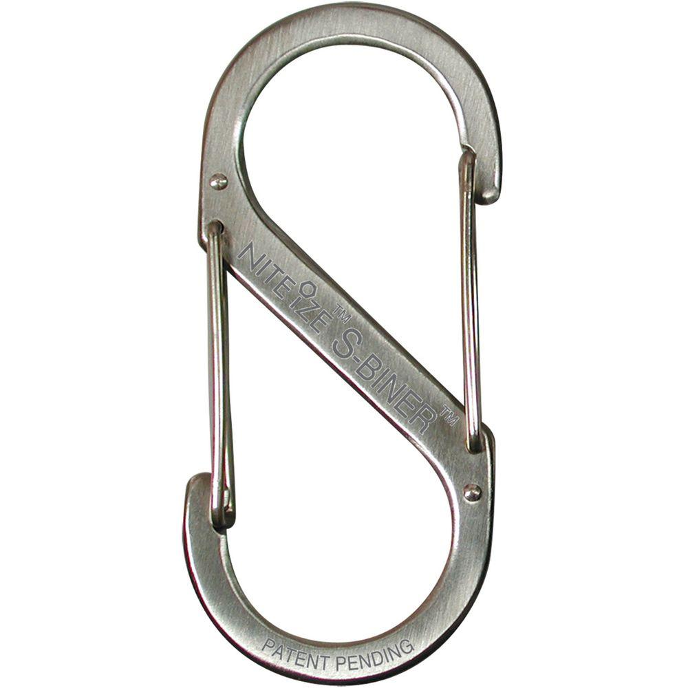 UPC 094664007451 product image for Nite Ize SB4-03-11 Stainless S-Biner Versatile Carry Biner Size 4 75 LB Limit | upcitemdb.com