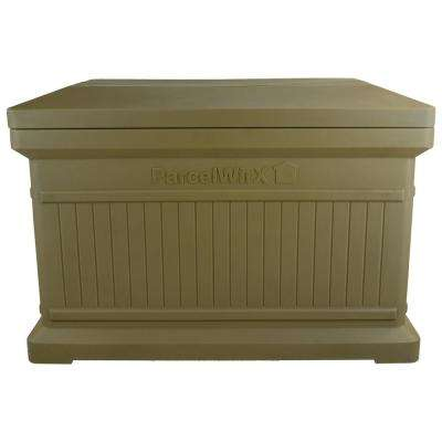 Oak Standard Horizontal Architectrual ParcelWirx Delivery Drop Box