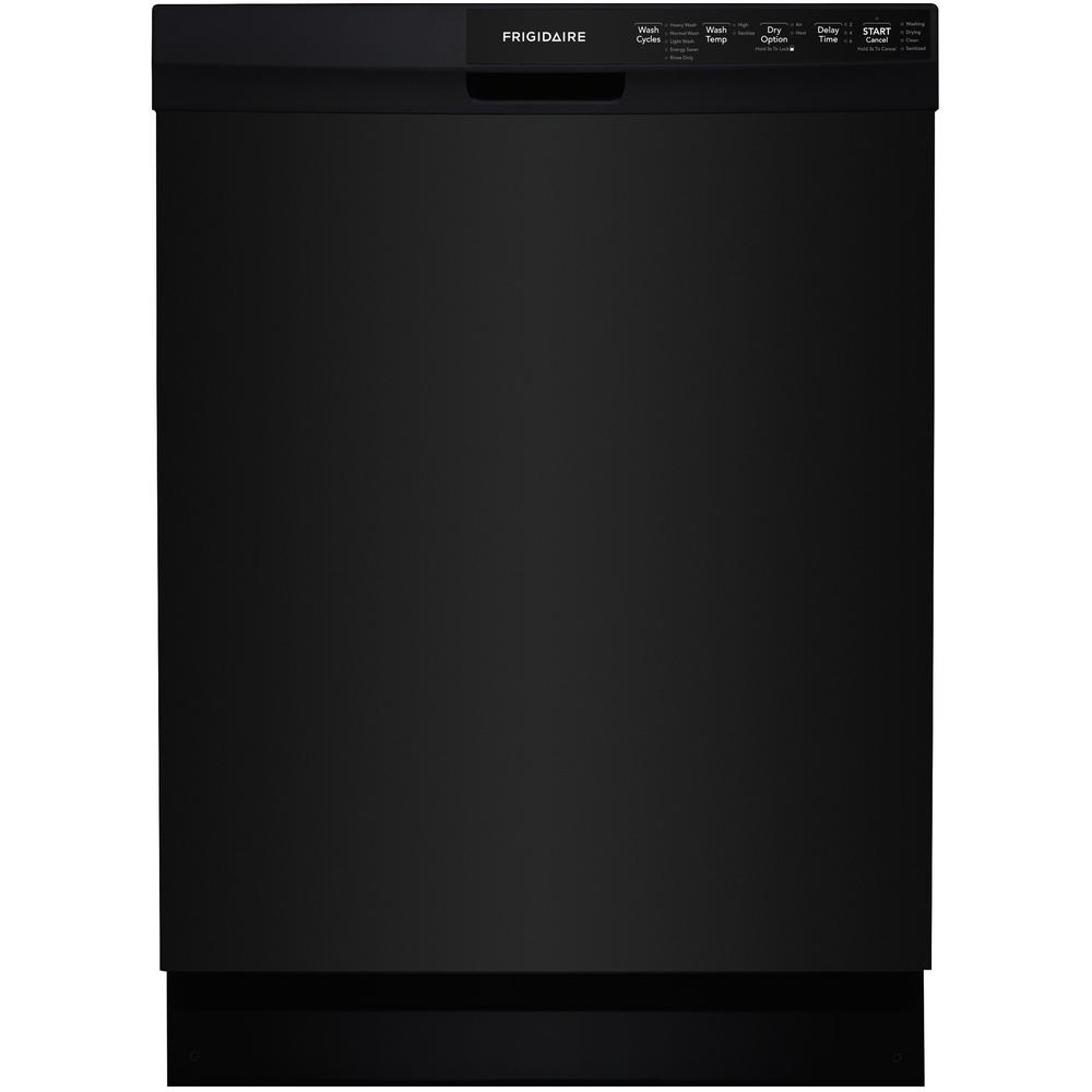 Frigidaire Front Control Built-In Tall Tub Dishwasher in ...