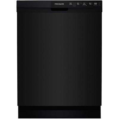Front Control Built-In Tall Tub Dishwasher in Black, ENERGY STAR