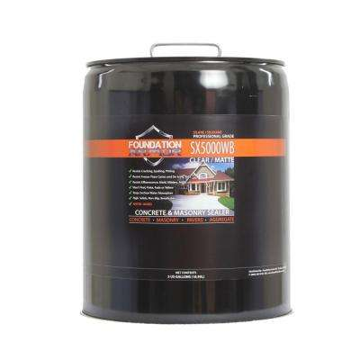 5 gal. Penetrating Water Based Silane Siloxane Concrete Sealer, Brick Sealer and Masonry Water Repellent