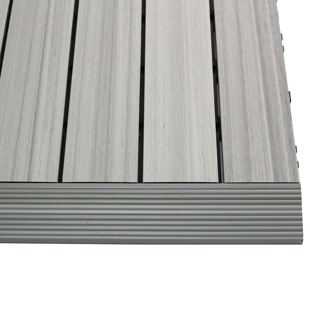 Quick Deck Composite Deck Tile Straight Trim